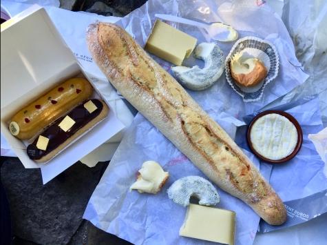 L'Éclair de Génie, Baguettes, Cheese = Sustenance
