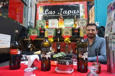 Tapas & Wine @ Mercado de San Juan